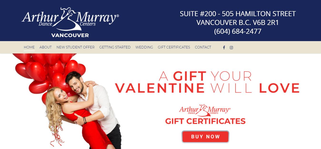 Arthur Murray Dance Studio of Vancouver