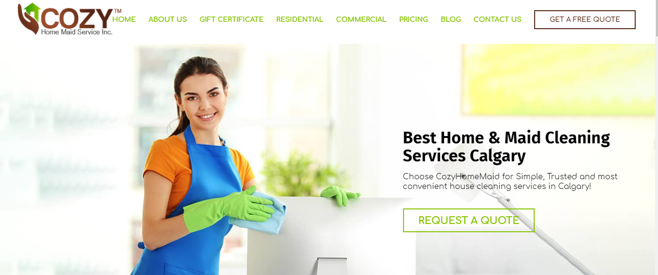 Cozy Home Maid Service Inc.