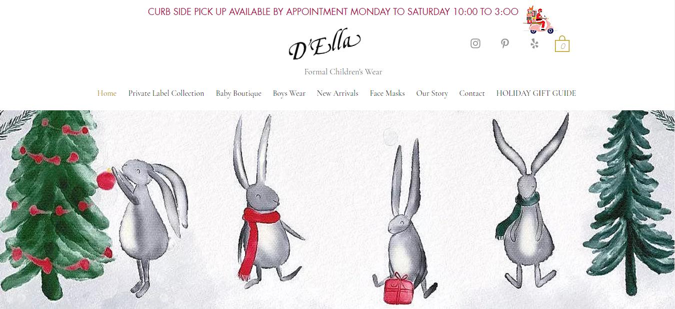D 'Ella Formal Children's Wear