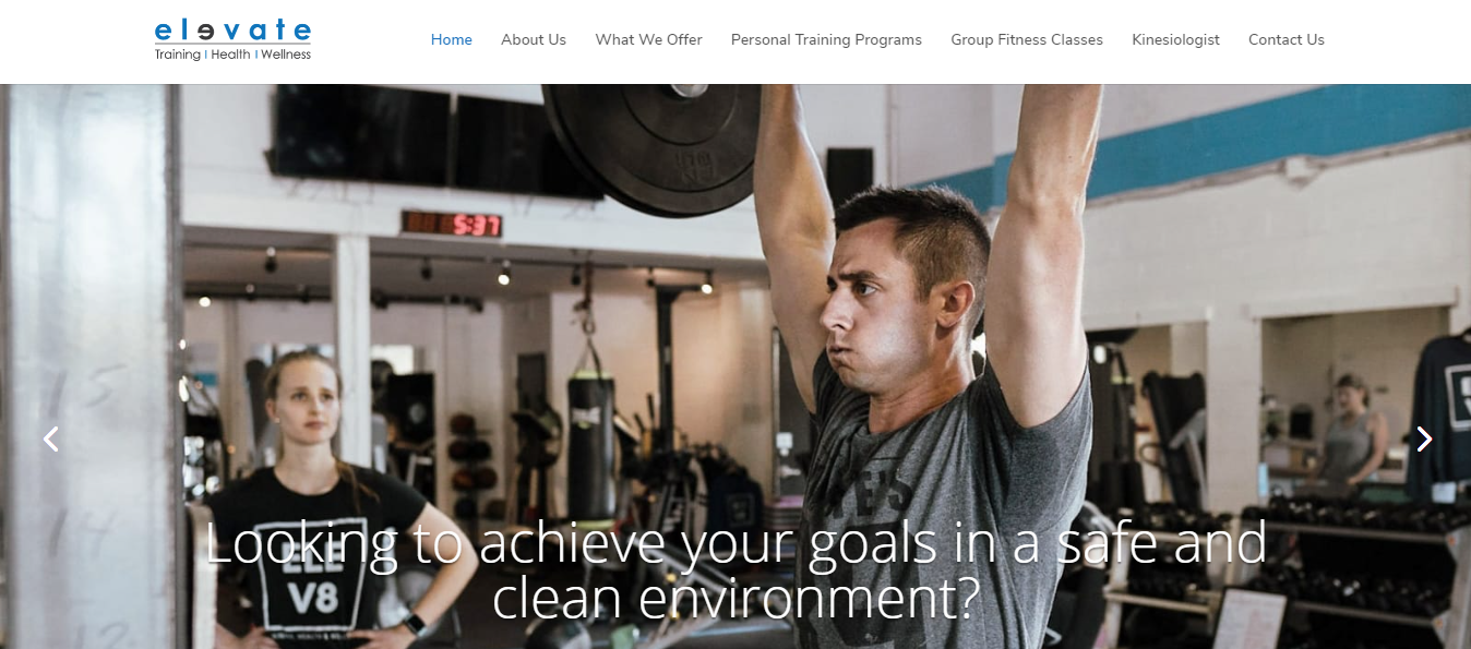 Elevate Training, Health and Wellness