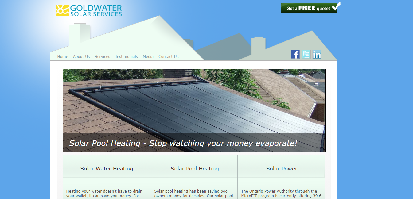 Goldwater Solar Services Ltd
