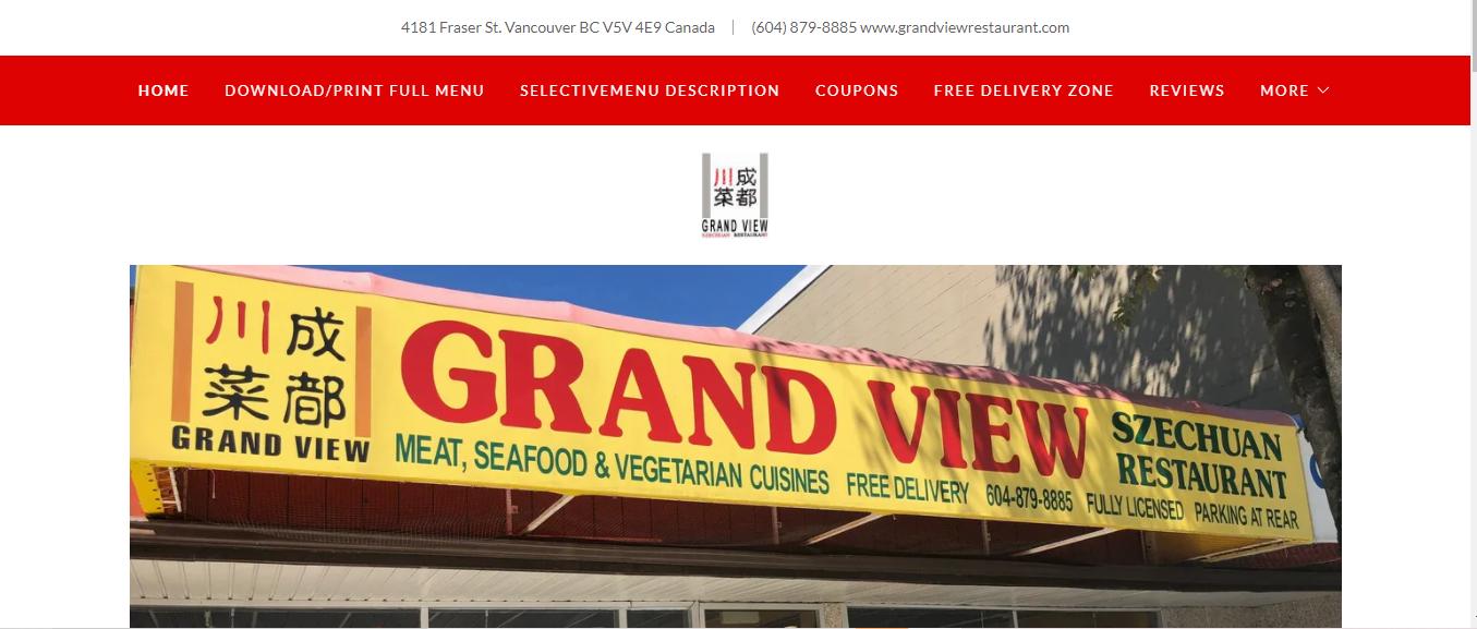 Grand View Szechuan Restaurant