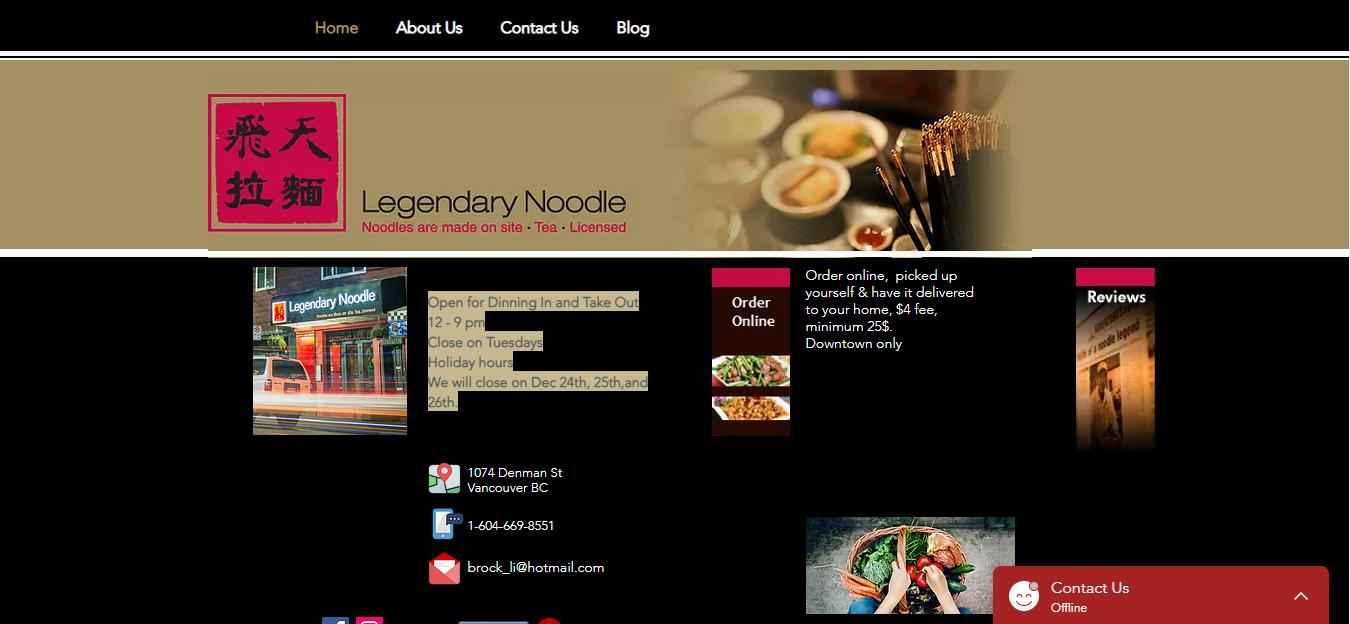 Legendary Noodle