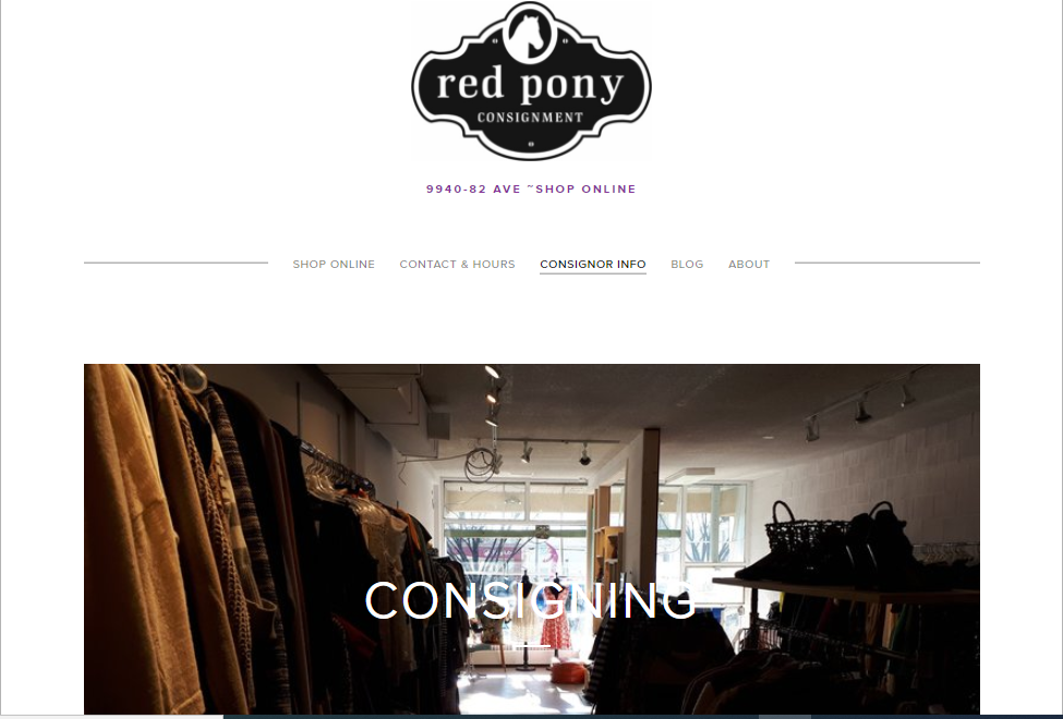 Red Pony Consignment