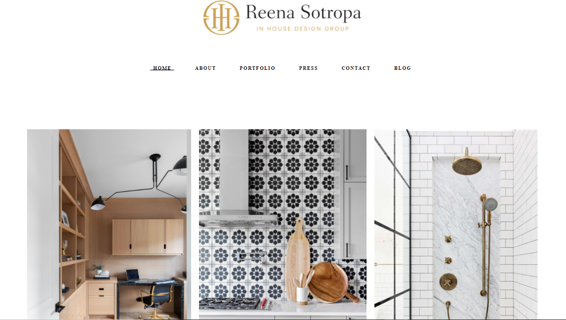 Reena Sotropa In House Design Group