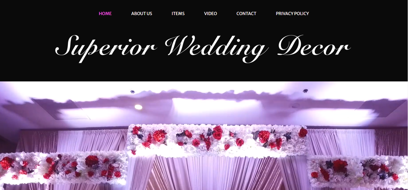 Superior Wedding Decor