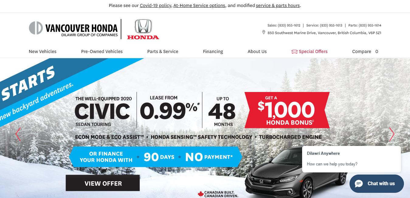 Vancouver Honda