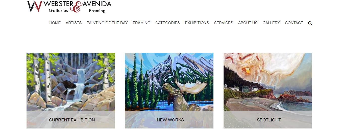Webster Galleries & Avenida Framing