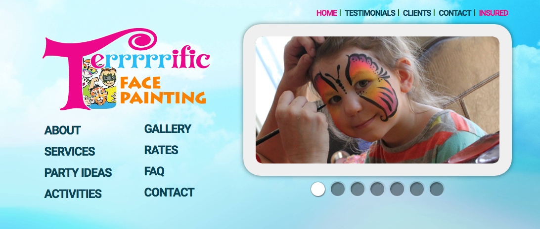 face painting in calgary