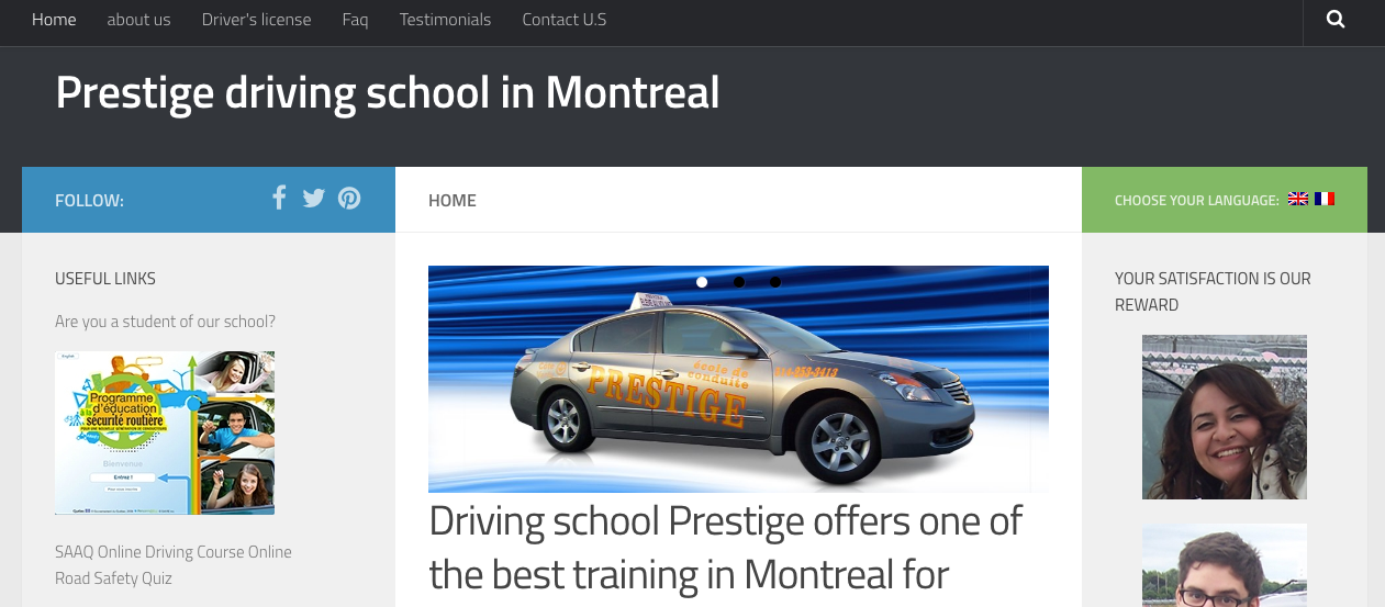 top driving schools in quebec