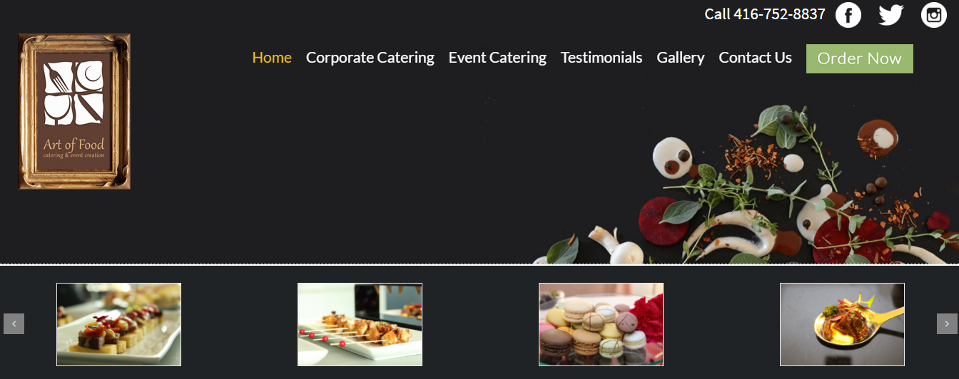 Art of Food Catering & Event Creation