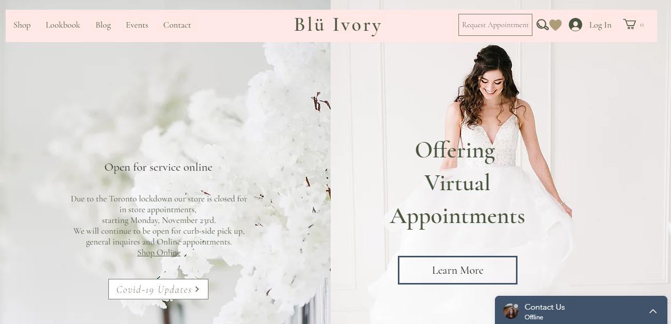 Blü Ivory Bridal