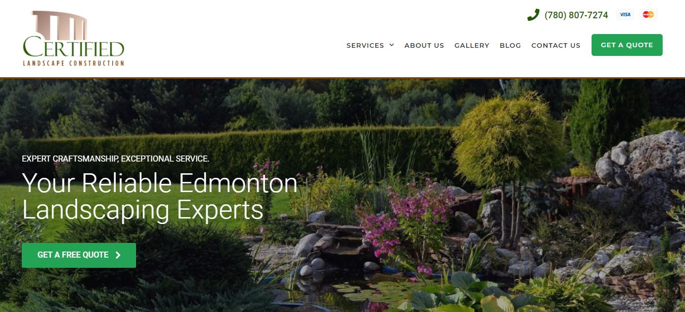 Certified Landscape Construction