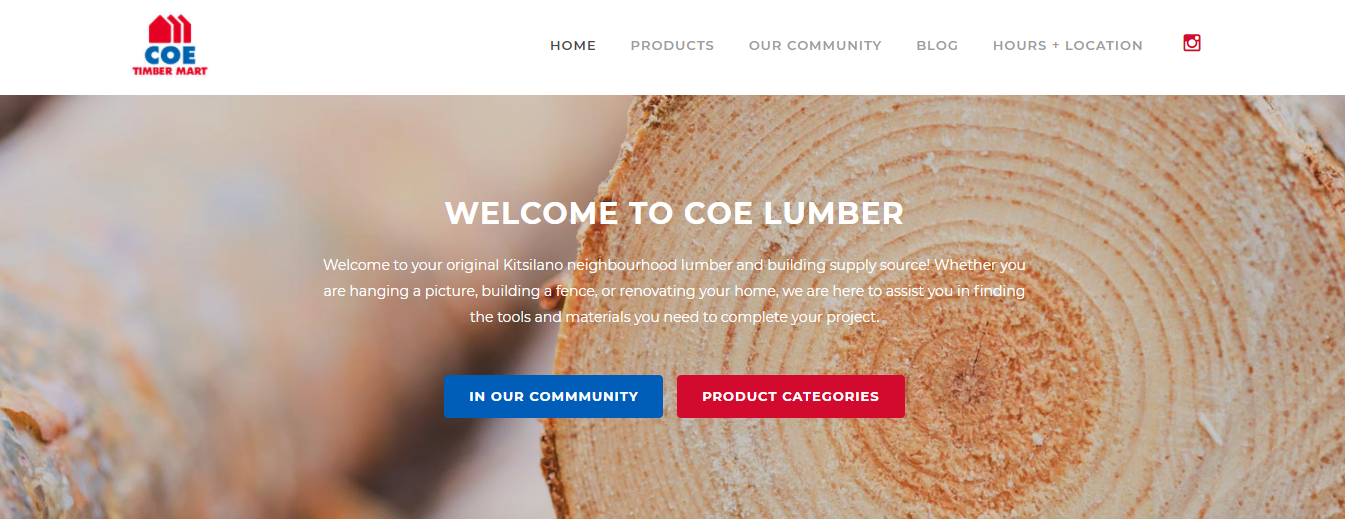 Coe Lumber & Building Supply Ltd