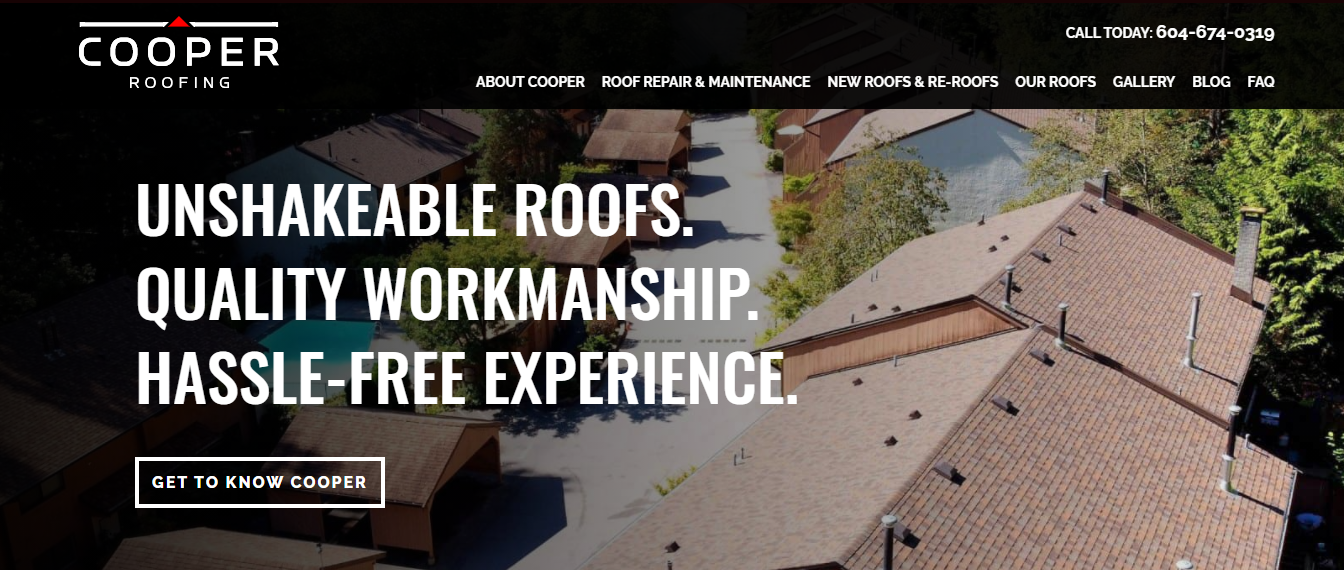 Cooper Roofing Vancouver