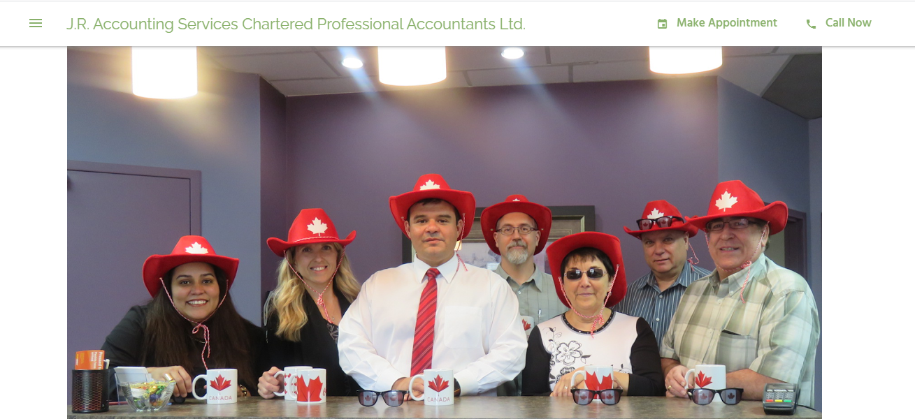 J.R. Accounting Services Chartered Professional Accountants Ltd.