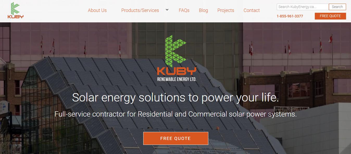Kuby Renewable Energy Ltd.