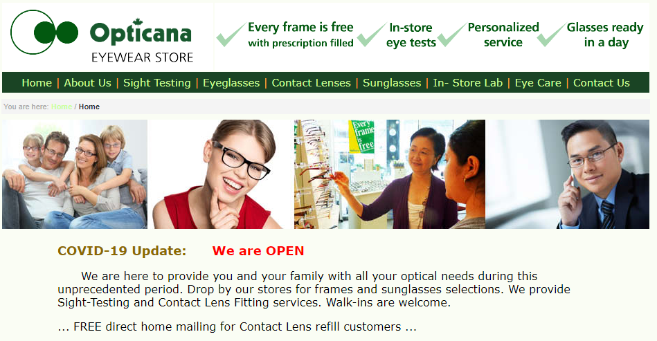 Opticana Family Eyewear Store