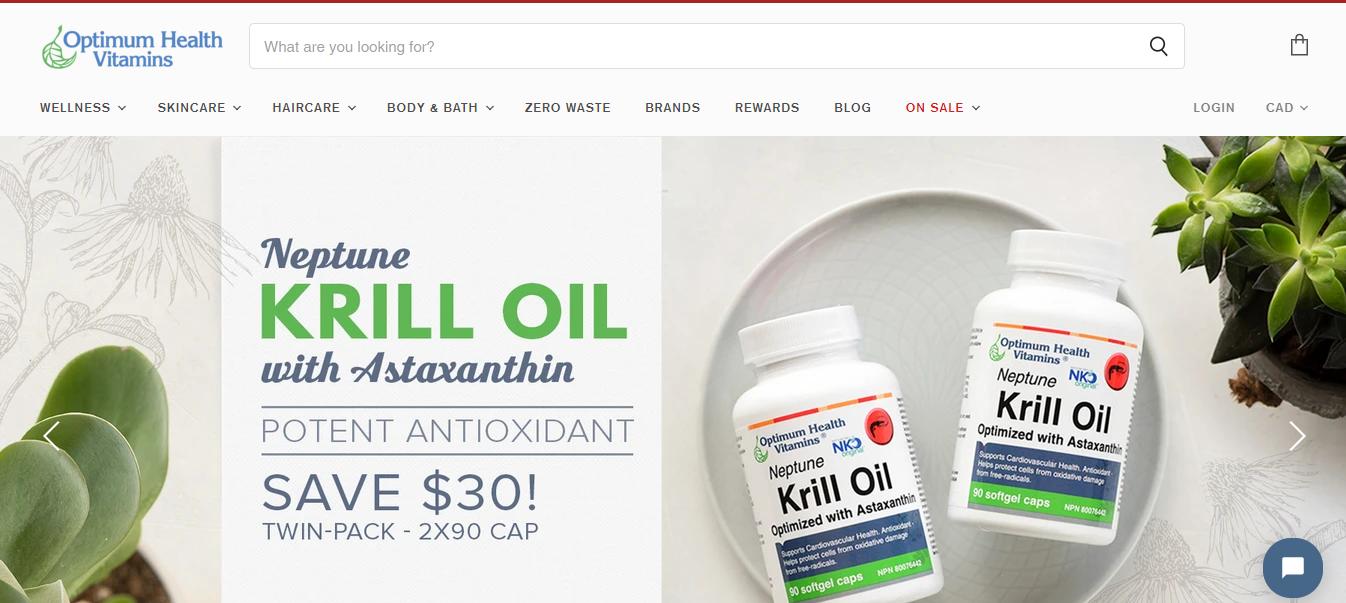 Optimum Health Vitamins