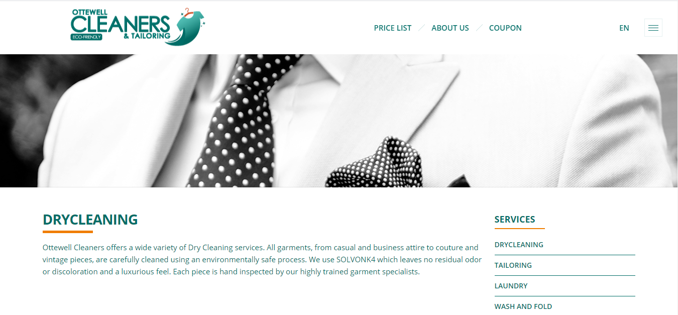 Ottewell Drycleaners & Tailoring