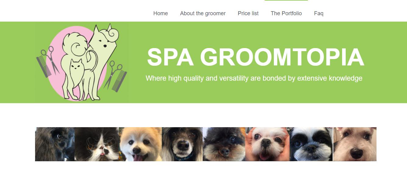 Spa Groomtopia