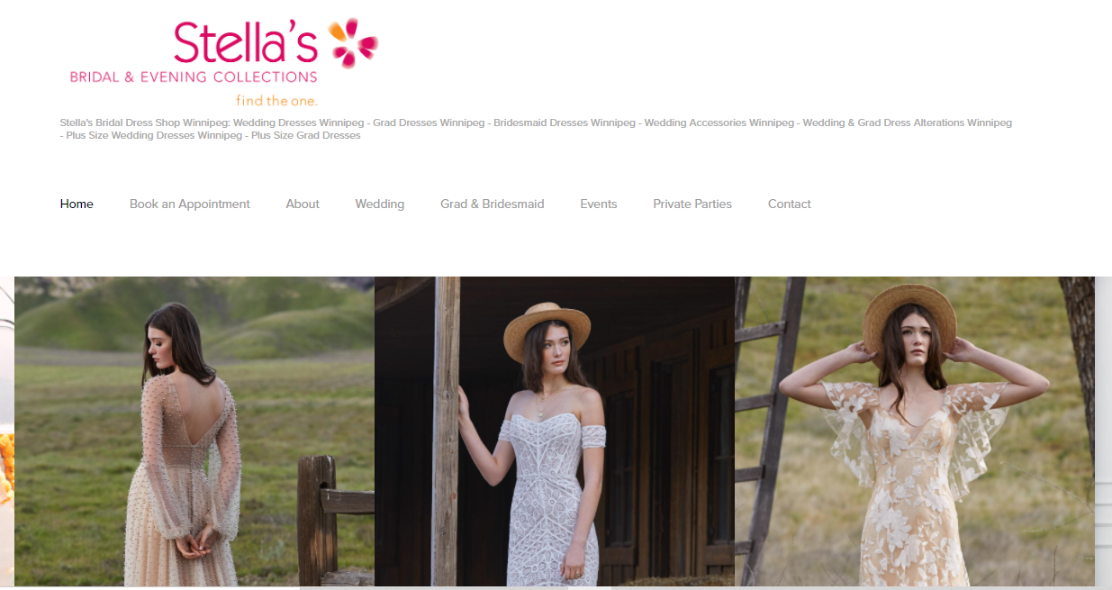 Stella's Bridal & Evening Collections