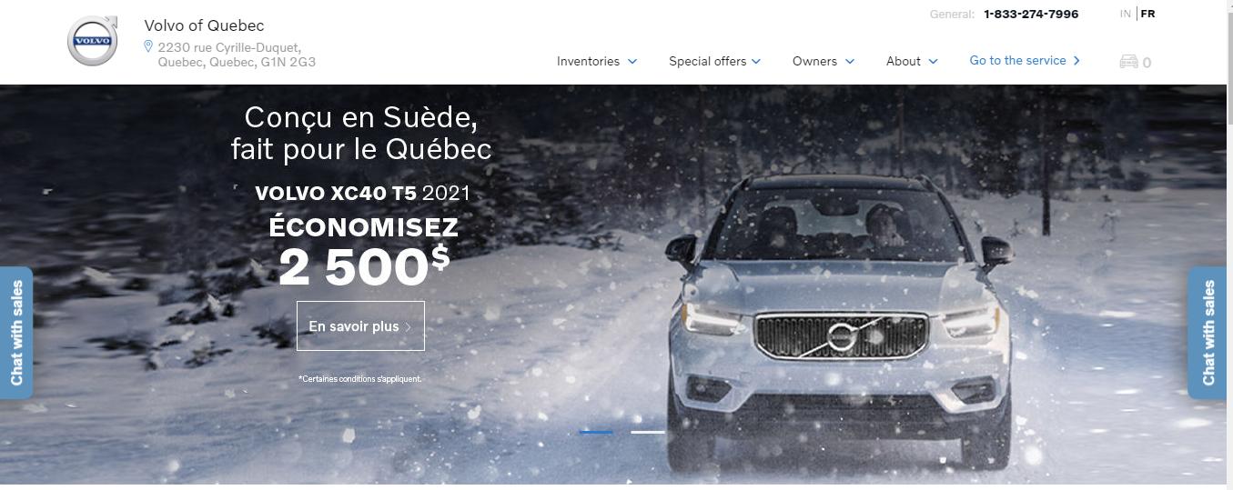 Volvo de Quebec