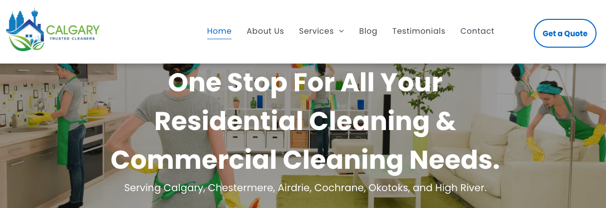 best cleaning services in calgary