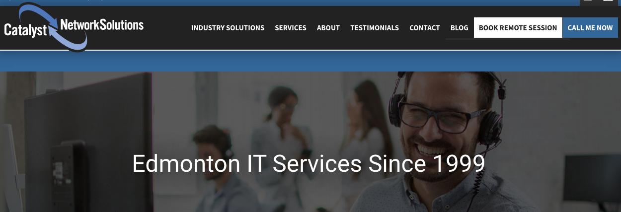 edmonton IT supports