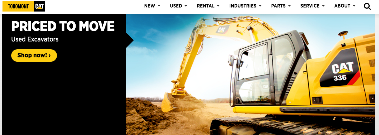heavy machinery dealers quebec