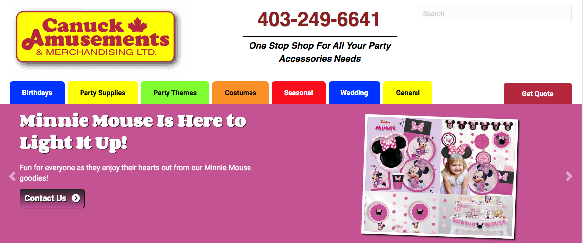 party supply stores in calgary