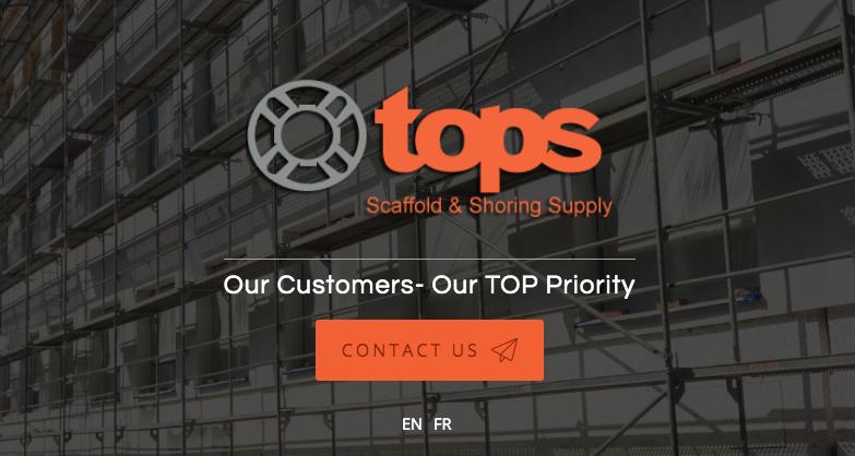 scaffolding rentals toronto