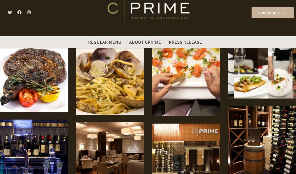 C|PRIME Modern Italian Steak and Wine