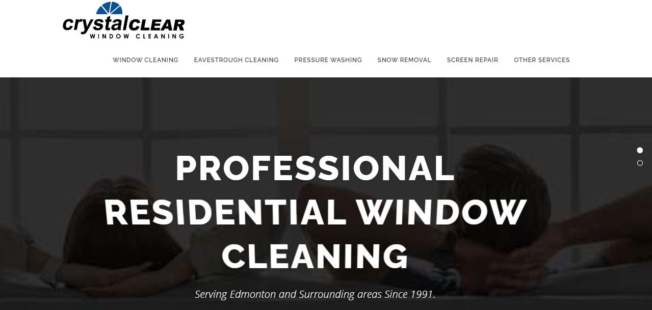 Crystal Clear Window Cleaning Edmonton