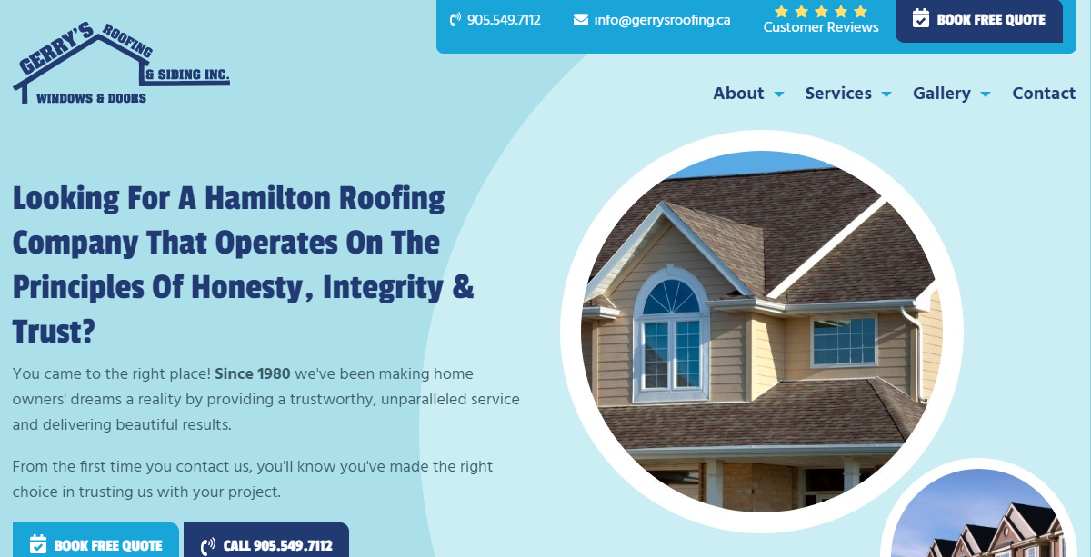 Gerry's Roofing & Siding