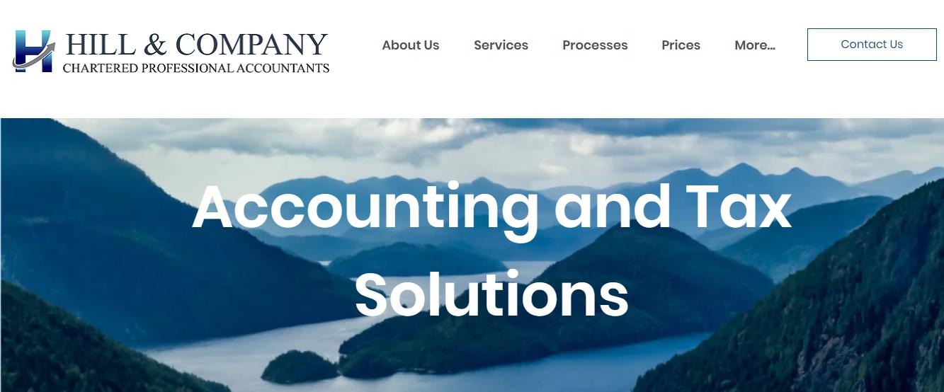 Hill & Company Chartered Accountants LLP