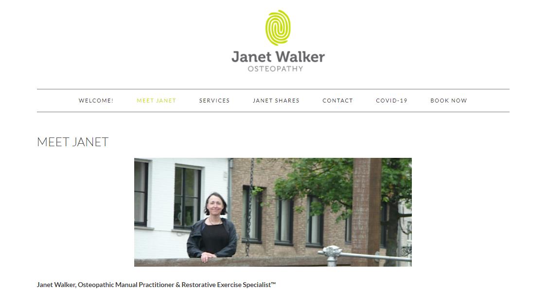 Janet Walker Osteopathy