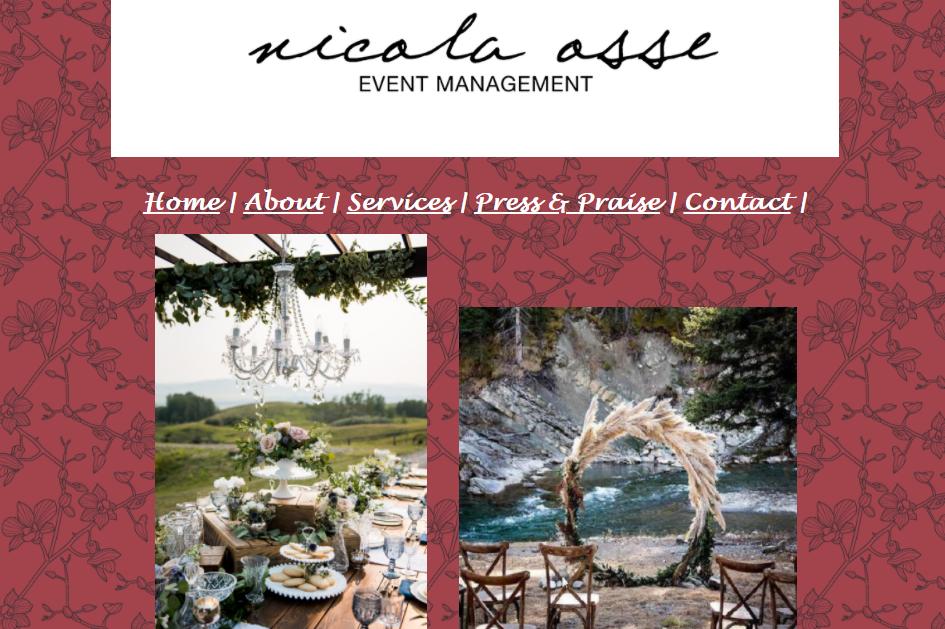 Nicola Osse Event Management