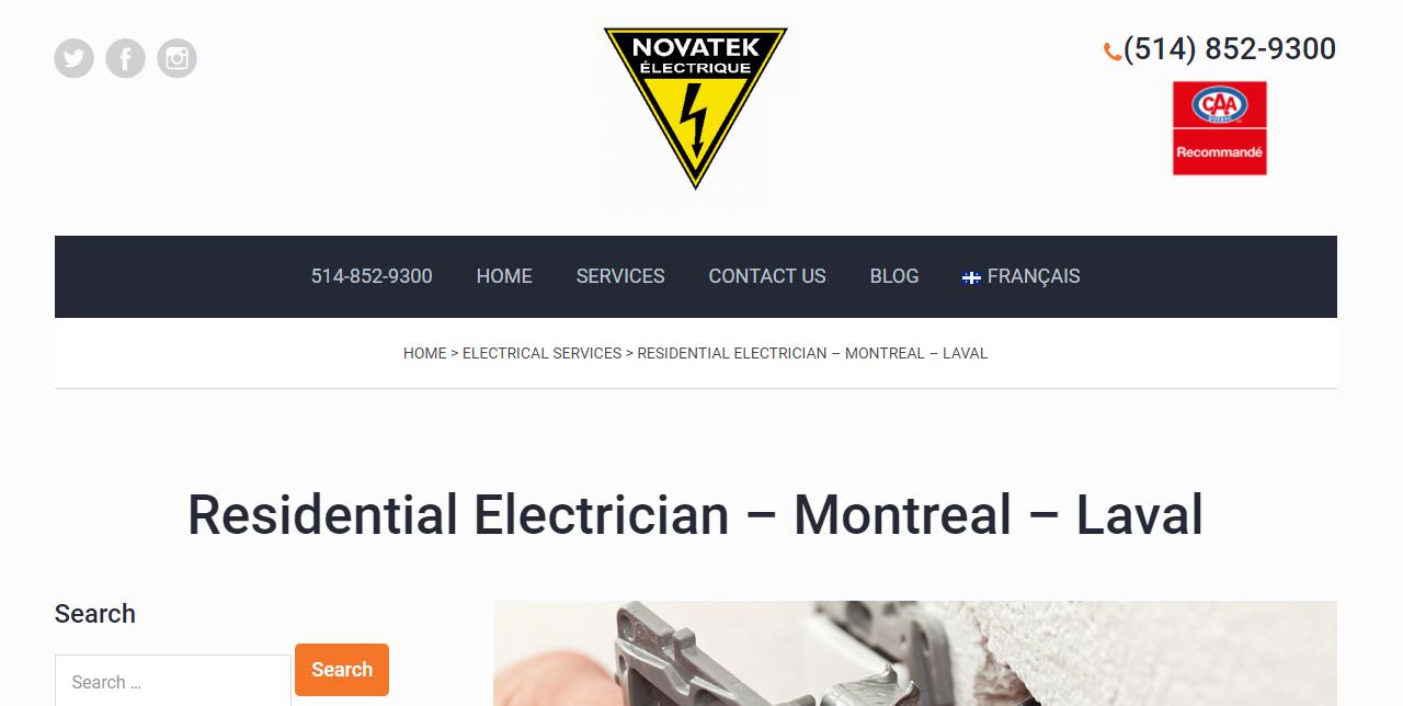 Novatek Electrique inc.