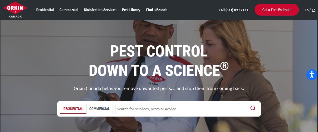 Orkin Canada Pest Control