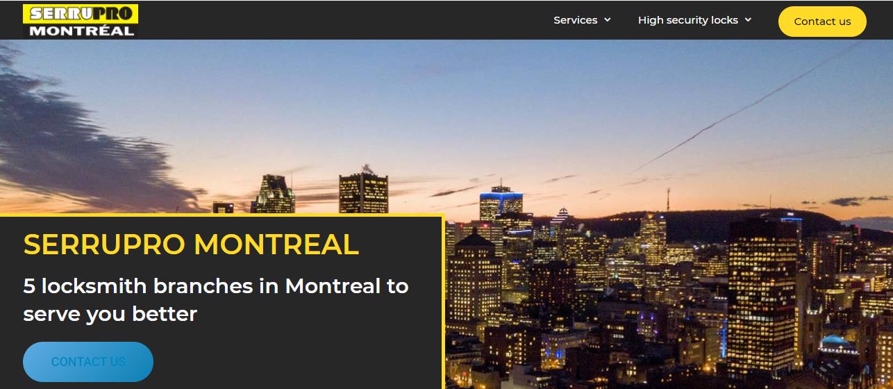 Serrupro Montréal
