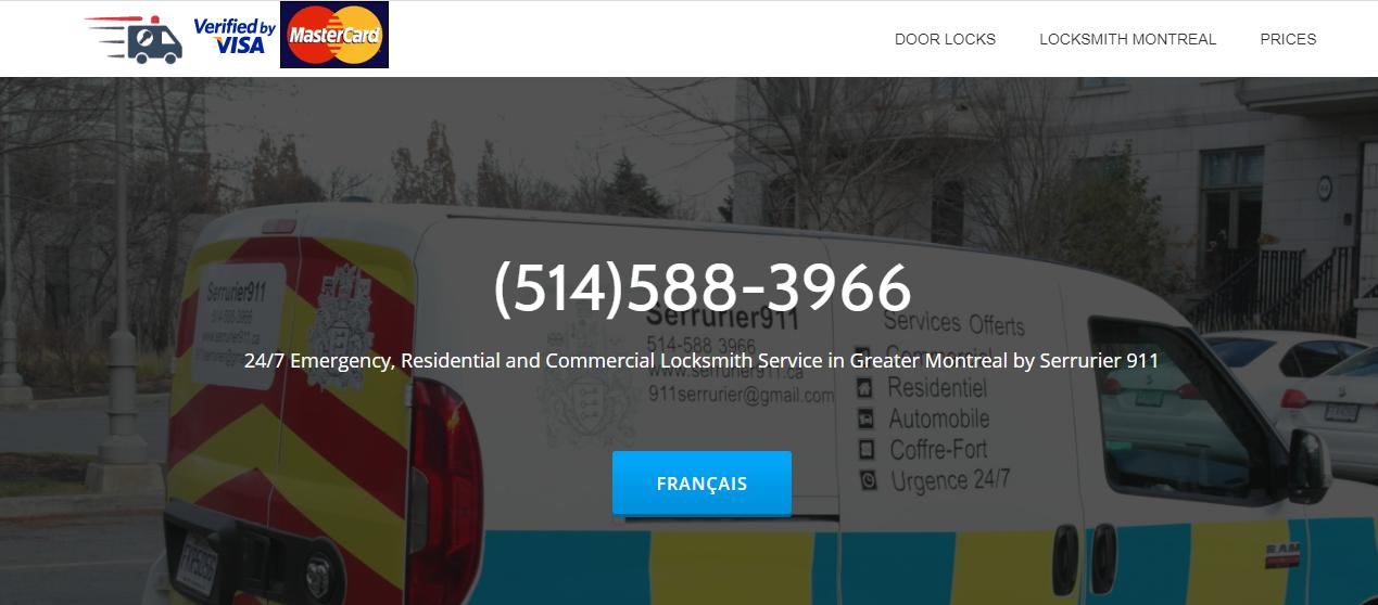 Serrurier 911 Locksmith Montreal