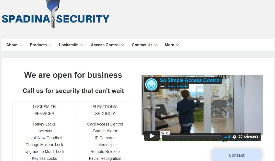 Spadina Security Incorporated