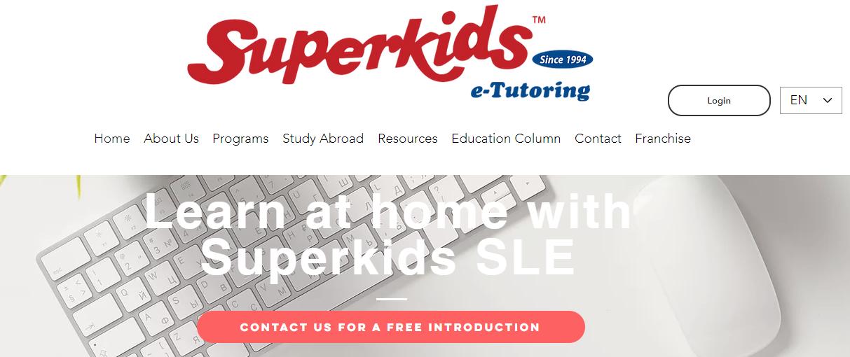 Superkids E-Learning & Tutoring Center