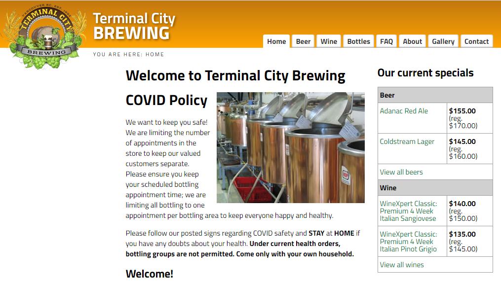 Terminal City Brewing
