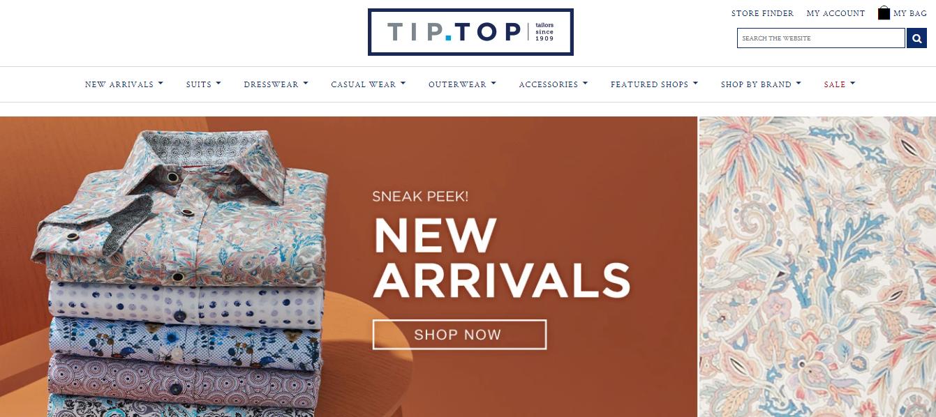 Tip Top (Tailors since 1909)