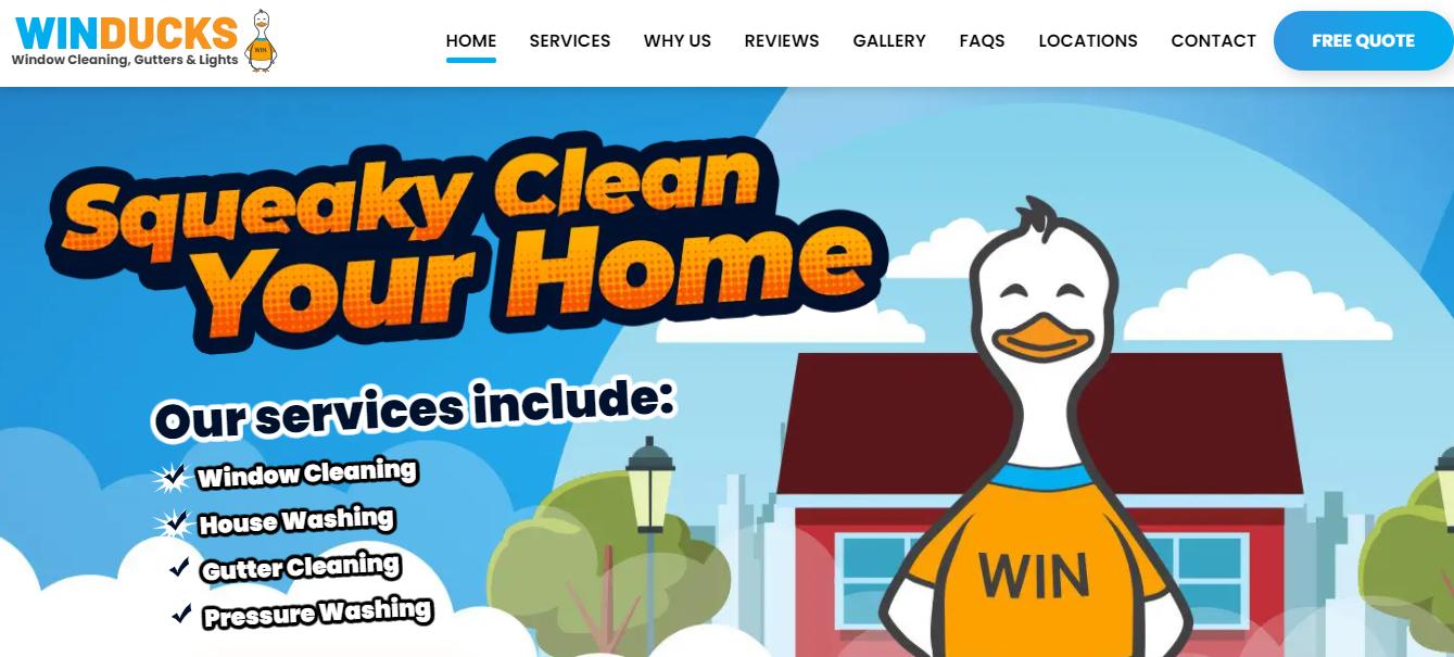 Winducks Gutter & Window Cleaning Edmonton