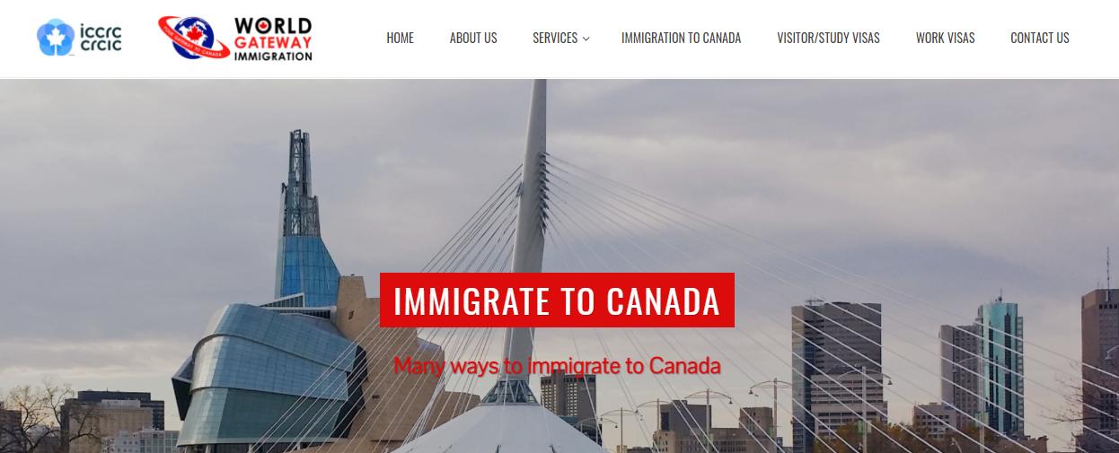 World Gateway Immigration Company Inc.