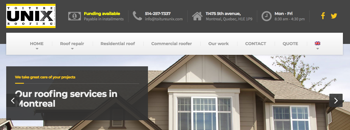 roofing contractor montreal