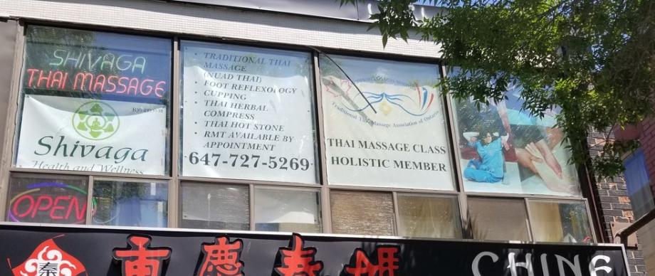 thai massage places toronto